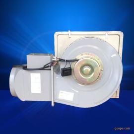家用离心风机 除尘排尘风机带电动止回阀 厨房排油烟风机 180D
