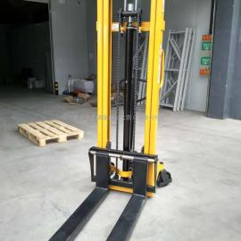 1吨3米手动叉车 手动液压堆高车 托盘装卸车 升高车 手推叉车