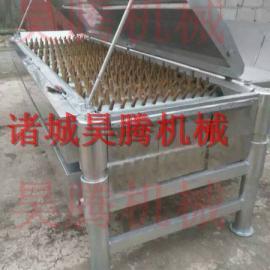 昊腾机械宰鸡设备卧式脱毛机介绍