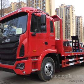 江淮国五平板拖车,平板运输车