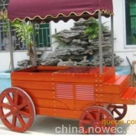 四川景区手推车;可爱手推车;仿古售货车