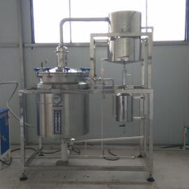 小型植物精油提取设备│植物精油蒸馏塔设备
