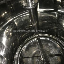 小型电加热多功能提取罐 武汉金榜热回流提取浓缩机
