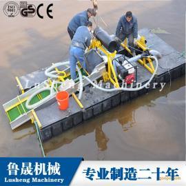 青州小型淘金船、便于携带的轻型淘金船、小体积的小型淘金船