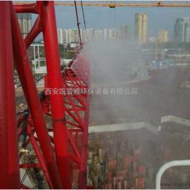 工地降温除尘神器塔吊喷淋系统