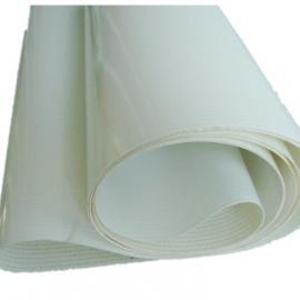 白色pu输送带,pu平面皮带,环形白色传送带