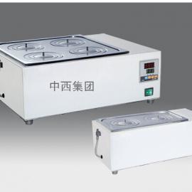 数显电热恒温水浴锅 双列四孔 电子调温万用电阻炉 4*1kw 型号:TT
