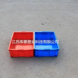 厂家直销耐用周转箱物流定制物料箱塑料箱可堆叠套叠工业箱