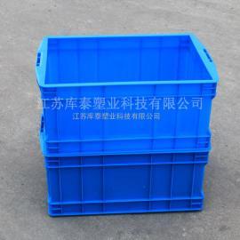厂家直销带盖五金周转箱 五金塑料收纳箱 新余五金箱