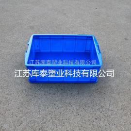 供应全新料带盖周转箱 塑料箱批发