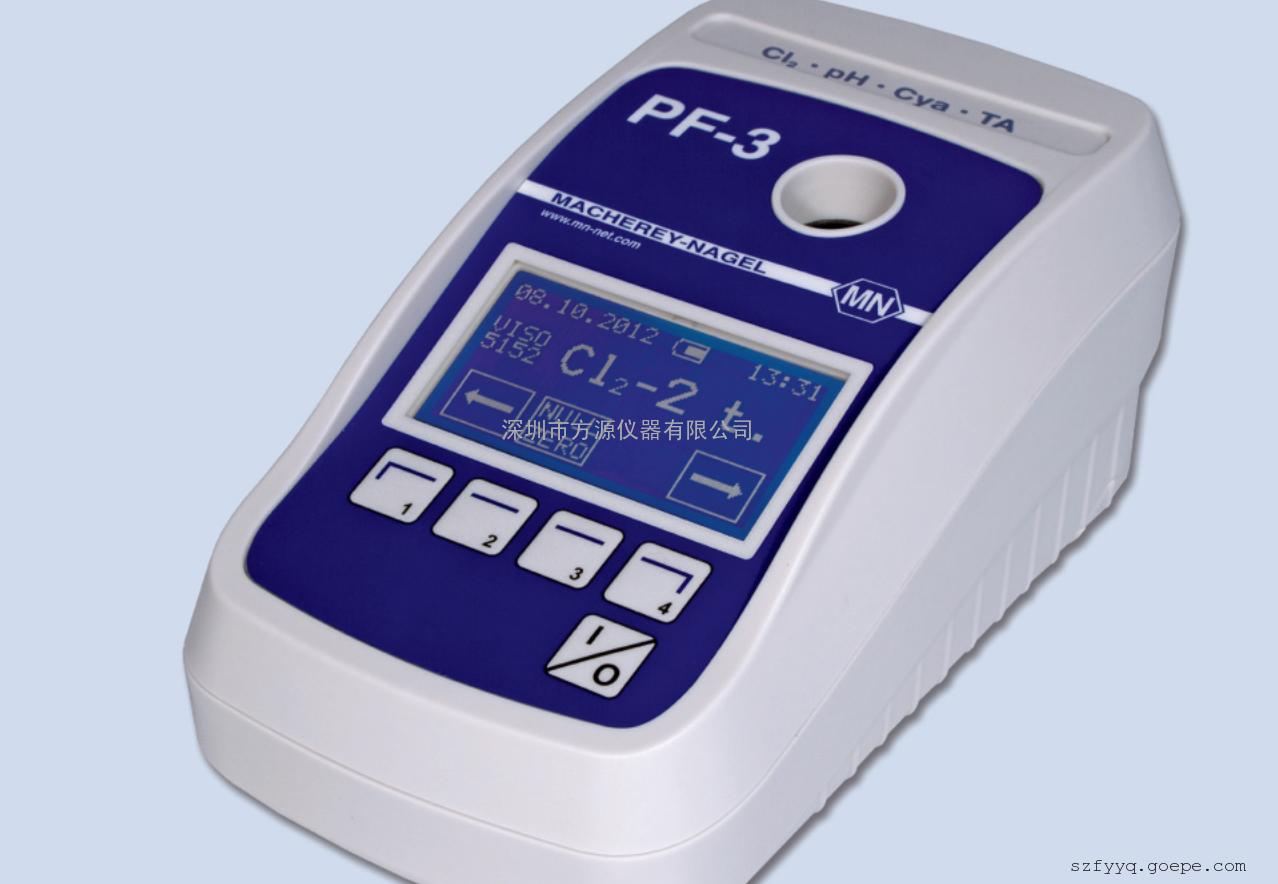 原装进口小巧灵活便携式水质快速分析PF-3-游泳池水检测