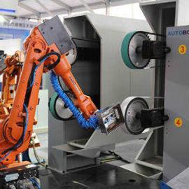 二手焊接机器人工作站 压铸机上下料 五轴焊接机器人