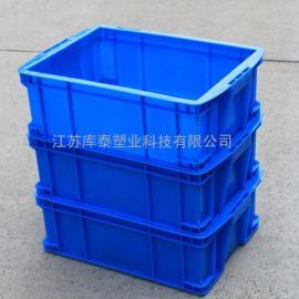 奉化厂家直批多颜色755塑料周转箱加厚带盖运输箱