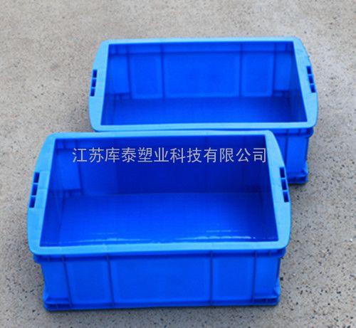 专业生产可定制全新料塑料周转箱380-140箱加厚物流箱