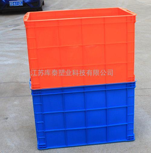 专业生产可定制全新料塑料物流箱755周转箱