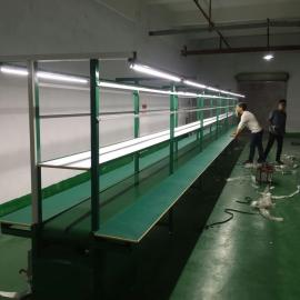肇庆流水线 生产线 工作台 水帘柜 喷油拉