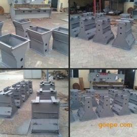 四川省高速预制隔离墩钢模具价格 尺寸