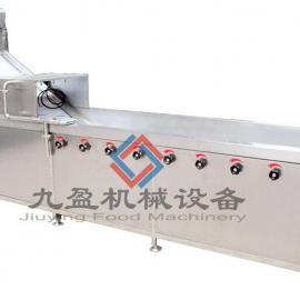阿摩尼亚主动倒洗菜机 节能工业继续式洗菜机JYTP1000