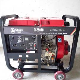 250A柴油动力发电电焊机进口性能品质好