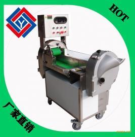 全自动切片切丝切丁切条机多功能切菜机大型切菜机双头商用碎菜机