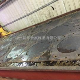 20MM碳钢板等离子切割