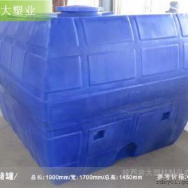 西安4.5吨卧式水箱生产厂 容大厂家卧式水箱怎么卖