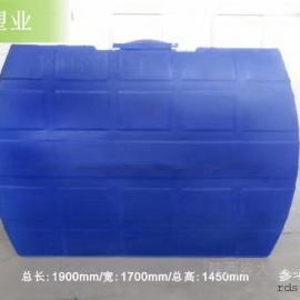5吨卧式农用水箱5方卧式地埋储罐原装现货