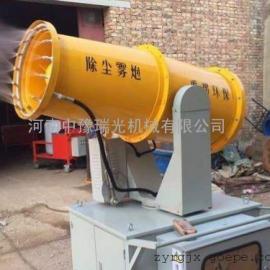 中豫瑞光RG-40雾炮机为解决工地污染做出了绵薄之力