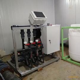 草莓膜下滴灌专用精准变量施肥机 EC/PH 控制