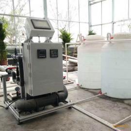 无土栽培 基质栽培 水培专用智能施肥机 EC/PH 控制