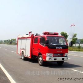 东风2吨消防车 东风水罐消防车 国五东风消防车价格