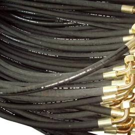 厂家供应高压胶管总成 法兰胶管总成 大口径高压耐油法兰胶管总成