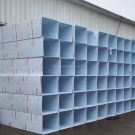 PP方管通风管道-苏州厂家可定制PP风管厂家直销