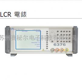 �_�骋婧�MICROTEST 6376 LCR�表