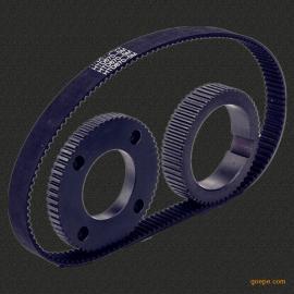 东莞杰迪厂家直销各种型号同步带和定做各种同步轮齿轮链轮