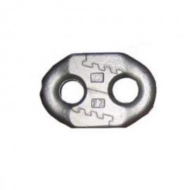 山东厂家生产 刮板机锯齿环 矿用扁平圆环链连接环