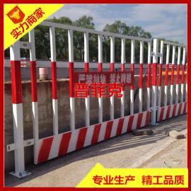 基坑临边防护栏 建筑工地安全警示栏杆 道路临时可移动护栏网