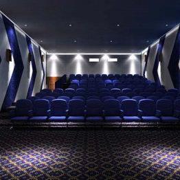衡阳市电影院防火阻燃B1级聚酯纤维吸音板报价