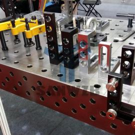 柔性组合工装夹具/三维柔性组合焊接工装夹具
