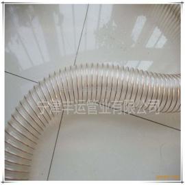 木工车间吸尘管木工除尘器软管PU高伸缩钢丝管