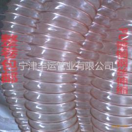 家私厂木屑吸尘管PU钢丝伸缩管成都高伸缩吸尘管