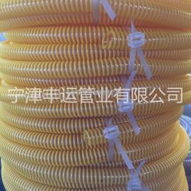 路面抛丸机软管PU耐磨吸尘软管颗粒、碎料输送软管