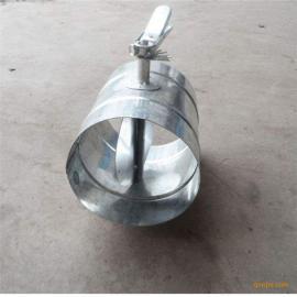 圆形防火阀 风量调节阀 中央空调末端70度圆形防火阀