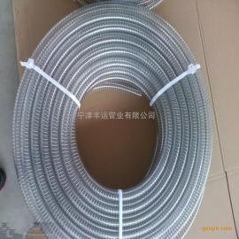 PU钢丝增强软管聚氨酯输酒软管食用油输送软管