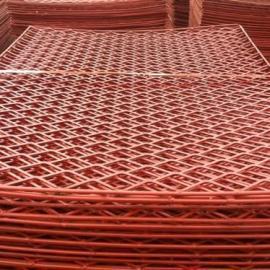 安康绿色环保防滑钢笆片-建筑工地脚手架用网