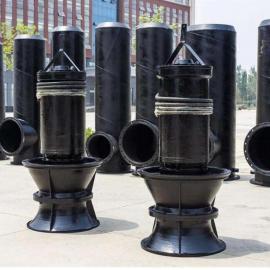 德能350QZB-50潜水轴流泵大流量排水泵生产厂家