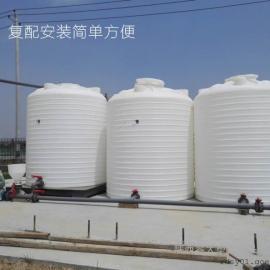 潼�P10��立式塑料桶 10方聚羧酸�p水��团涔�