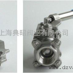 三片式弹簧自动复位球阀厂家 DZTQ11F