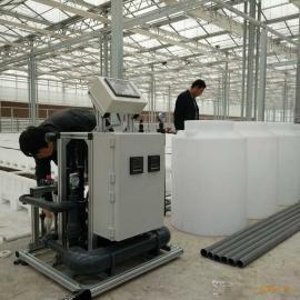 河北农业基地草莓专用自动灌溉施肥机 EC/PH精准控制