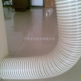 耐磨木屑抽吸管 PU塑筋加强耐磨软管吸排风管